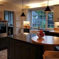 solid wooden kitchen Newtownards. Granite and silestone worktops Newtownards, luxury kitchens Newtownards, traditional kitchens Norther Ireland