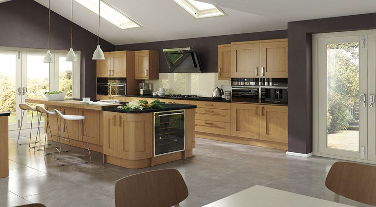 Windsor Shaker Contemporary Kitchen Modern Design